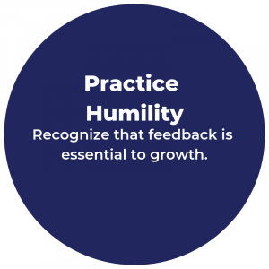 Practice Humility